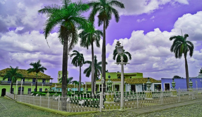 Trinidad de Cuba vue par Yoe
