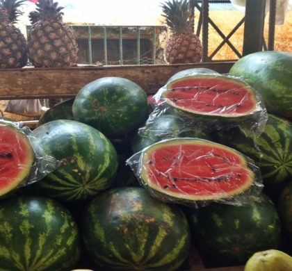 Faites votre marché sur la route d'Holguin à Baracoa