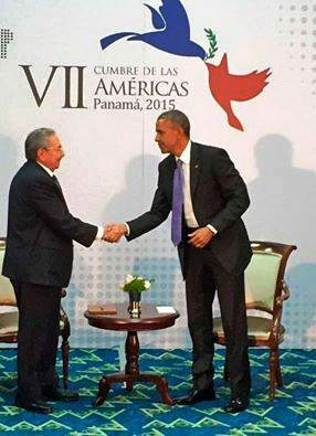 rencontre Casto Obama Panama