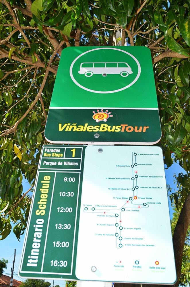Arret Viñales Bus Tour