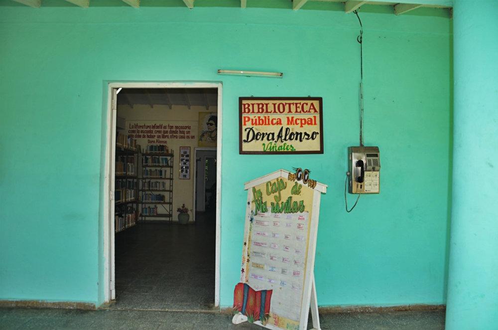 biblioteque Viñales